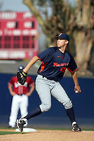 March 23, 2010: David Hurlbut of Cal. St. Fullerton during game  against Loyola Marymount at LMU in Los Angeles,CA.  Photo by Larry Goren/Four Seam Images