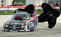 31 August - 3 September, 2012, Indianapolis, Indiana USA, Tony Pedregon, K-Love, Toyota Camry, funny car @2012, Mark J. Rebilas