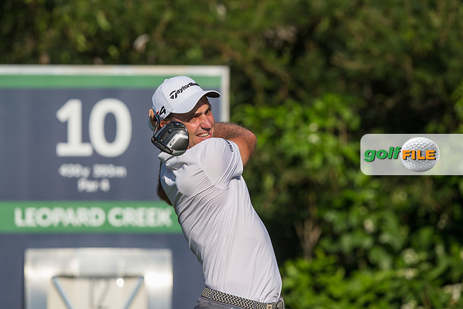 Eduardo Molinari (ITA) during the 1st round of the Alfred Dunhill Championship, Leopard Creek Golf Club, Malelane, South Africa. 13/12/2018<br /> Picture: Golffile | Tyrone Winfield<br /> <br /> <br /> All photo usage must carry mandatory copyright credit (&copy; Golffile | Tyrone Winfield)
