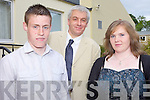 AWARDS: The two students who made an outstanding contribution to the Transition Year at Presentation Secondary School, Milltown were Shane Corkery and Louise Flynn pictured here with teacher Mark Hanly (centre).