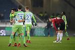 28.01.2018, HDI Arena, Hannover, GER, 1. Bundesliga, Hannover 96 - VfL Wolfsburg, im Bild der VfL Wolfsburg gewinnt 0:1 <br /> <br /> Foto &copy; nordphoto / Dominique Leppin