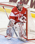 Kerrin Sperry (BU - 1) - The Boston College Eagles defeated the Boston University Terriers 2-1 in the opening round of the Beanpot on Tuesday, February 8, 2011, at Conte Forum in Chestnut Hill, Massachusetts.