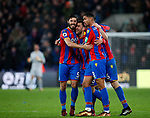 Crystal Palace's James McArthur celebrates scoring his sides second goal during the premier league match at Selhurst Park Stadium, London. Picture date 12th December 2017. Picture credit should read: David Klein/Sportimage