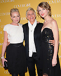 Portia De Rossi,Ellen DeGeneres and Taylor Swift at The Covergirl 50th Anniversary Celebration held at BOA in West Hollywood, California on January 05,2011                                                                               © 2010 Hollywood Press Agency
