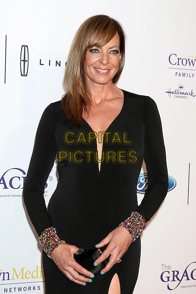 LOS ANGELES - MAY 24:  Allison Janney at the 41st Annual Gracie Awards Gala at Beverly Wilshire Hotel on May 24, 2016 in Beverly Hills, CA. <br /> CAP/MPI/DE<br /> &copy;DE/MPI/Capital Pictures