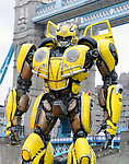 'Bumblebee photocall, London, UK Tower Bridge London