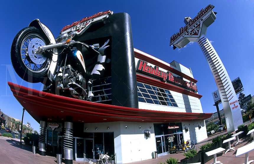 Harley Davison Restaurant on the Strip, Las Vegas, Nevada, USA
