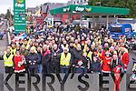 Bikers all set at the start of the  Killarney Honda 50 rally in Killarney on Sunday