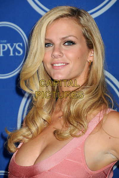 BROOKLYN DECKER .18th Annual ESPY Awards - Press Room held at Nokia Theatre L.A. Live, Los Angeles, California, USA, .14th July 2010..espys portrait headshot pink peach coral cleavage .CAP/ADM/BP.©Byron Purvis/AdMedia/Capital Pictures.