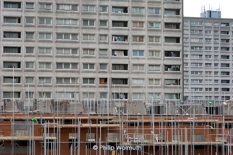 Construction of new low-rise units on Stonebridge Estate, in the London Borough of Brent.  The estate is managed by the Stonebridge Housing Action Trust (HAT).