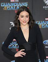 "HOLLYWOOD, CA - April 19: Chloe Bennet, At Premiere Of Disney And Marvel's ""Guardians Of The Galaxy Vol. 2"" At The Dolby Theatre  In California on April 19, 2017. Credit: FS/MediaPunch"