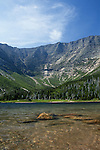 Chimney Pond and Mt. Katahdin, Baxter State Park, Maine, USA