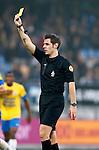 Nederland, Waalwijk, 21 oktober 2012.Eredivisie.Seizoen 2012-2013.RKC Waalwijk-PEC Zwolle (1-2).Scheidsrechter J. Kamphuis