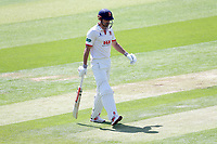 Alastair Cook of Essex leaves the field having been dismissed for 31 during Essex CCC vs Nottinghamshire CCC, Specsavers County Championship Division 1 Cricket at The Cloudfm County Ground on 15th May 2019