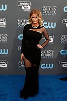 Carrie Keagan attends the 23rd Annual Critics' Choice Awards at Barker Hangar in Santa Monica, Los Angeles, USA, on 11 January 2018. Photo: Hubert Boesl - NO WIRE SERVICE - Photo: Hubert Boesl/dpa /MediaPunch ***FOR USA ONLY***