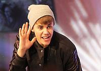 Justin Bieber switching-on Westfield London, Shepherd's Bush Christmas Lights - Live on stage, UK, 07 November 2011
