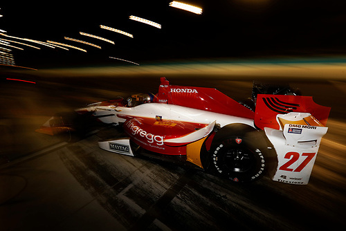 2017 IndyCar Media Day - Track Action<br /> Phoenix Raceway, Arizona, USA<br /> Saturday 11 February 2017<br /> Marco Andretti<br /> World Copyright: Michael L. Levitt/LAT Images<br /> ref: Digital Image _AT_3981
