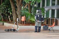 BRASÍLIA, DF, 28.11.2016 – AMEAÇÃ-BOMBA – Ameaça de bomba no prédio do Ministério da Fazenda em Brasília, na tarde desta segunda-feira, 28. (Foto: Ricardo Botelho/Brazil Photo Press)