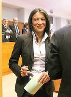 ANTONIO RUGGIERO CONSIGLIERA REGIONALE DELLA CAMPANIA  ACCUSATA DAL MARITO DI AVER AVUTO UNA RELAZIONE CON  BERLUSCONI.NELLA FOTO ANTONIA RUGGIERO IN CONSIGLIO.FOTO CIRO DE LUCA