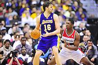 NBA - Los Angeles Lakers vs. Washington Wizards, March 7, 2012
