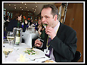 16/03/2009  Copyright Pic: James Stewart.File Name : sct_jspa04_parliament.DAILY MAIL REPORTER JONATHAN BROCKLEBANK TRIES OUT THE BARGAIN FOOD AT THE SCOTTISH PARLIAMENT'S MEMBERS RESTAURANT WASHED DOWN BY A NOT SO INEXPENSIVE WINE......James Stewart Photography 19 Carronlea Drive, Falkirk. FK2 8DN      Vat Reg No. 607 6932 25.Telephone      : +44 (0)1324 570291 .Mobile              : +44 (0)7721 416997.E-mail  :  jim@jspa.co.uk.If you require further information then contact Jim Stewart on any of the numbers above.........