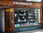 Crossways, traditional tobacconist shop, Cromer, Norfolk, England