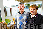 Gene and Helen who's house in Killorglin was robbed last week.
