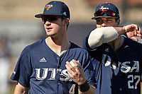 SAN ANTONIO, TX - FEBRUARY 14, 2020: The Quinnipiac University Bobcats fall to the University of Texas at San Antonio Roadrunners 2-0 at Roadrunner Field (Photo by Jeff Huehn).