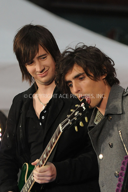 WWW.ACEPIXS.COM . . . . . ....November 25 2008, New York City....Rock band All American Rejects played on the 'Today Show' at the Rockefeller Plaza on November 25 2008 in New York City....Please byline: KRISTIN CALLAHAN - ACEPIXS.COM.. . . . . . ..Ace Pictures, Inc:  ..(646) 769 0430..e-mail: info@acepixs.com..web: http://www.acepixs.com