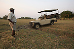 Plaines de Busanga dans le parc national de Kafue. Zambie