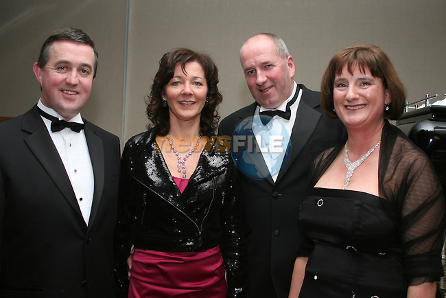 Anthony Morahan, Siobhan Woods, Andrew Woods and Mirium Doyle from Beverage Business Solutions at the Drogheda Chamber of Commerce Business Excellence Awards in the City North Hotel...Photo NEWSFILE/Jenny Matthews.(Photo credit should read Jenny Matthews/NEWSFILE)....This Picture has been sent you under the condtions enclosed by:.Newsfile Ltd..The Studio,.Millmount Abbey,.Drogheda,.Co Meath..Ireland..Tel: +353(0)41-9871240.Fax: +353(0)41-9871260.GSM: +353(0)86-2500958.email: pictures@newsfile.ie.www.newsfile.ie.FTP: 193.120.102.198.