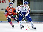 Bollnäs 2013-02-17 Bandy SM-kvartsfinal , Bollnäs GIF - Edsbyns IF :  .Edsbyn 10 Daniel Liw i aktion.(Byline: Foto: Kenta Jönsson) Nyckelord:  porträtt portrait
