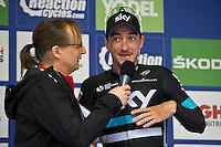 2016 Tour of Britain<br /> Stage 2, Carlisle to Kendal<br /> 5 September 2016<br /> Elia Viviani, Team Sky