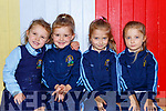 Twins Abigail and Andrew Horan with Julia and Alexandra  Wisniewska who started school in St Olivers NS Killarney