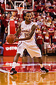 December 3, 2012: Ray Gallegos (15) of the Nebraska Cornhuskers looks to pass in the game against the USC Trojans at the Devaney Sports Center in Lincoln, Nebraska. Nebraska defeated USC 63 to 51.