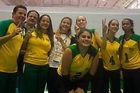 SÃO PAULO,SP, 24.03.2017 - PARAPAN-JUVENTUDE -  Final Vôlei sentado Fem - Brasil vence USA e é Campeão, no CT Paralímpico Brasileiro, no Parapan da Juventude em São Paulo nesta sexta-feira, 24. (Foto: Danilo Fernandes/Brazil Photo Press)