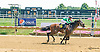 Lexian winning at Delaware Park on 8/15/15