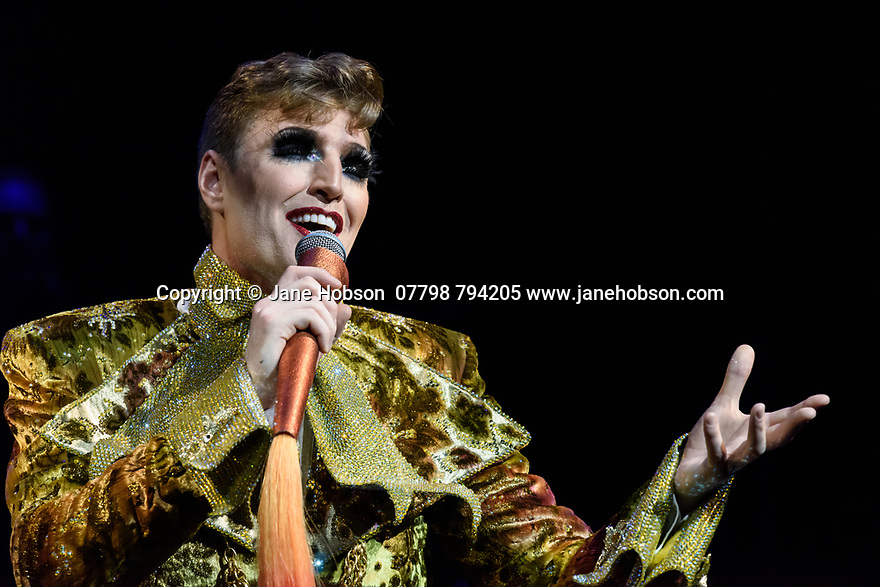 Assembly Festival Gala Launch at the Edinburgh Festival Fringe. Assembly presents a showcase of a number of productions and acts to launch their Fringe 2019, at the Assembly Hall, Edinburgh. Picture shows: Reuben Kaye.