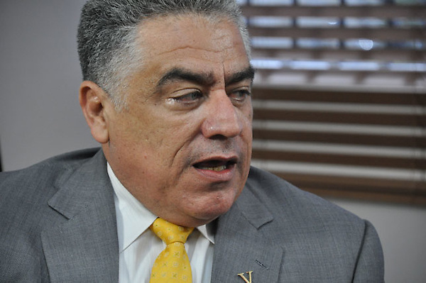 José Miguel Soto Jiménez, presidente del Partido V República, general retirado .Ciudad: Santo Domingo.Fotos:  Carmen Suárez/acento.com.do.Fecha: 15/09/2011.