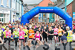 The start of the Dingle Women's Mini Marathon on Saturday afternoon...