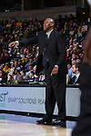 Wake Forest Demon Deacons head coach Danny Manning gives instructions to his team during second half action against the Minnesota Golden Gophers at the LJVM Coliseum on December 2, 2014 in Winston-Salem, North Carolina.  The Golden Gophers defeated the Demon Deacons 84-69. (Brian Westerholt/Sports On Film)