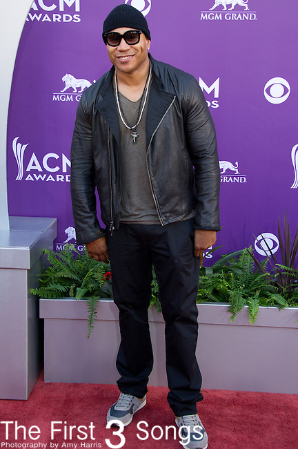 LL Cool J attends the 48th Annual Academy of Country Music Awards in Las Vegas, Nevada on April 7, 2012.