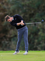 Kristian Krogh Johannessen (NOR) on the 3rd tee during Round 1 of the Bridgestone Challenge 2017 at the Luton Hoo Hotel Golf &amp; Spa, Luton, Bedfordshire, England. 07/09/2017<br /> Picture: Golffile | Thos Caffrey<br /> <br /> <br /> All photo usage must carry mandatory copyright credit     (&copy; Golffile | Thos Caffrey)