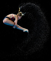Picture by Alex Whitehead/SWpix.com - 14/04/2018 - Commonwealth Games - Diving - Optus Aquatics Centre, Gold Coast, Australia - Katherine Torrance competes in the Women's 3m Springboard final.