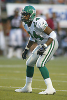 Jackie Mitchell Saskatchewan Roughriders 2003. Photo copyright Scott Grant.