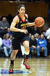 11 February 2013: Maryland's Chloe Pavlech. The Duke University Blue Devils played the University of Maryland Terrapins at Cameron Indoor Stadium in Durham, North Carolina in an NCAA Division I Women's Basketball game. Duke won the game 71-56.
