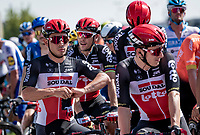 Caleb Ewan (AUS/Lotto-Soudal) at km 0, waiting for the start<br /> <br /> 'La Primavera' (Spring) in summer!<br /> 111st Milano-Sanremo 2020 (1.UWT)<br /> 1 day race from Milano to Sanremo (305km)<br /> <br /> the postponed edition > exceptionally held in summer because of the Covid-19 pandemic calendar reshuffle