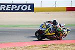 CEV Repsol en Motorland / Aragón <br /> a 08/06/2014 <br /> En la foto :<br /> moto2 races<br /> popov<br /> sheen<br />RM/PHOTOCALL3000