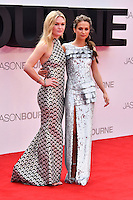 Julia Stiles, Alicia Vikander at Jason Bourne UK film premiere,the fifth instalment in the Bourne franchise, at Odeon Leicester Square, London, England 11 July 2016.<br /> CAP/JOR<br /> &copy;JOR/Capital Pictures /MediaPunch ***NORTH AND SOUTH AMERICAS ONLY***