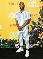 "01 August 2019 - Los Angeles, California - Brandon P. Bell. Netflix's ""Dear White People"" Season 3 Los Angeles Premiere held at TRegal Cinemas LA Live. Photo Credit: Birdie Thompson/AdMedia"